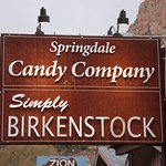 Springdale Candy Company sign
