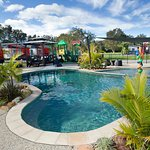 Swimming pool at Secura Lifestyle Lakeside Forster