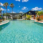 Swimming pool and toddler pool