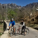 Free Trek mountain bikes to explore the village