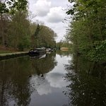 Great Union Canal from the lock