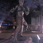Photo of Bruce Lee Statue