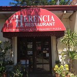 Entrance to Herencia restaurant
