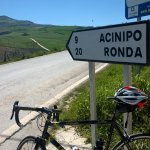 my Colnago Lux Titano enjoying the days, the miles and the views!