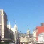Dunedin street 5 minutes from hotel.