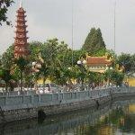 the stupa of 11 floors