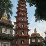 picturesque stupa
