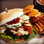 Chicken Bacon & Avo Burger