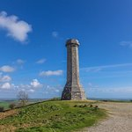Hardy's Monument in shape of spy glass.
