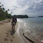 Morning ride through Coconut Beach