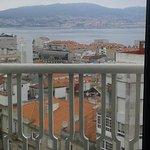 Vista de la Ría de Vigo desde la habitación