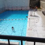 Warm pool for great swimming