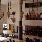 Reception sitting area