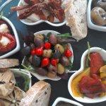 tapas sharing plate