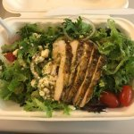 greek salad with the $4 grilled chicken option added.
