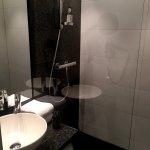 kleine Dusche/WC