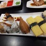 Diverse sushi