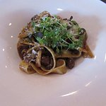 The special - beef short ribs over house made pasta