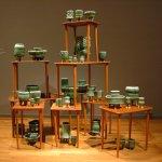 Lene Tori Obel Bugge, In Storage, 2015, ceramic installation.