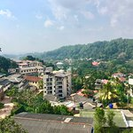 I took this photo from the rooftop of Sharon Inn - my favourite view in all of Kandy.