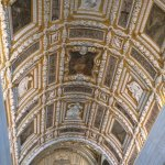 Golden ceiling in Palazzo Ducale