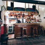 the cosy Black Grouse bar with great selection of beers and whiskies, and open fire.