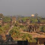 Fantastic view from top of Angkor Wat