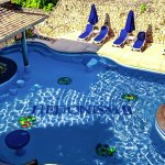 Nude Pool and Swim up Bar
