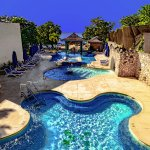 Nude Pool, Jacuzzi and Swim Up Bar
