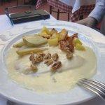 petto di pollo con gorgonzola e noci