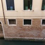 View from room 118 on side canal