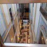 Passage inside hotel