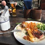 Why why why .sounded so good but as you can see £25 rubbish steak, prawns ??? Really as for the