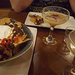 Nachos sharer - flipping lovely!!! Pornstar martinis - fruity and delicious @ 2for1