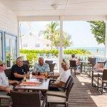 The resort's onsite restaurant, Hungry Iguana