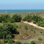 Accès plage de la Parée du Jonc à pieds