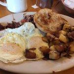 my breakfast I ordered scrambled eggs though