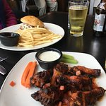Pulled Pork and the Hot Wings
