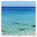 Calm,clear water
