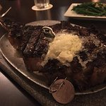 the Tomahawk steak!