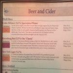 3 bières possibles... très peu