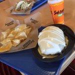 Quesorito: Massive Burrito Smothered in Queso!