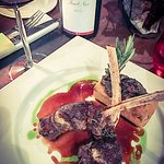 Love the lamb chops with Grosset Pinot (B2900)