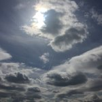 Cloud Appreciation society (you had to be there)