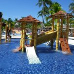Smaller water park (this one is between Caribe /Tropical), there is another similar at Beach/Car