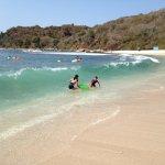 Snorkeling beach.