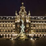 Grote Markt van Antwerpen Foto
