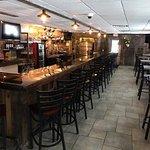 Rustic bar atmosphere