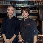 Chef Jacob and Sous Chef Josh