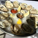 Don't let the idea of oyster appetizer deceive you... they are massive!
